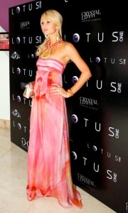 Paris Hilton wears AIISHA at her party for My Best Friend Forever - Dubai